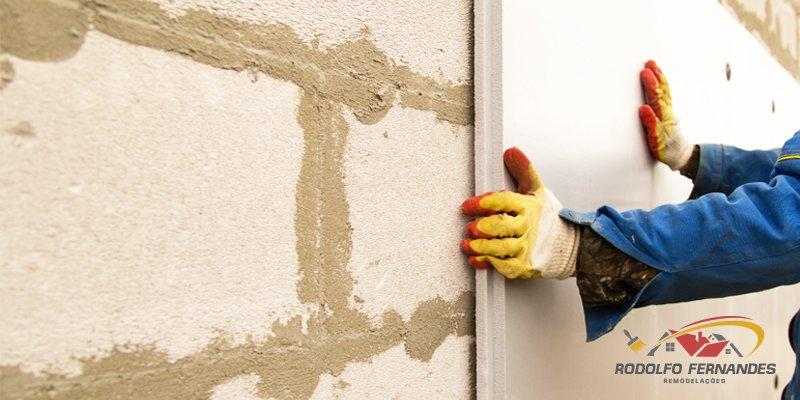 isolamento exterior de paredes