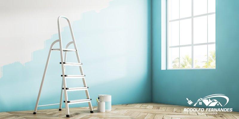 Qual a melhor altura para fazer a pintura de interior?